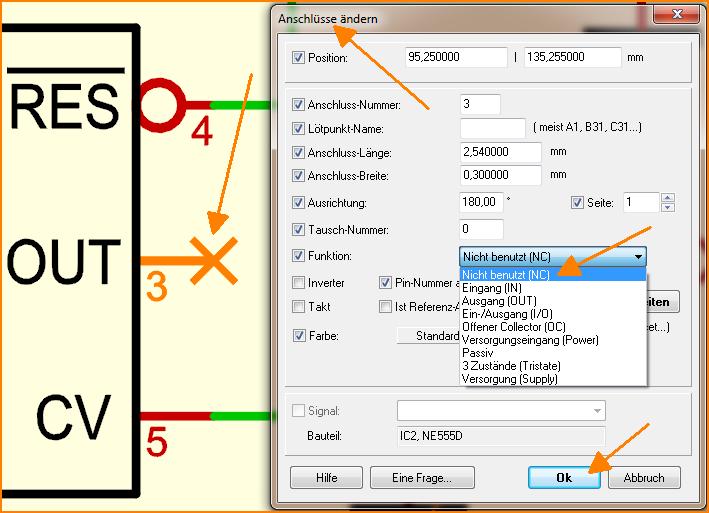 TARGET 3001! FAQ Anschluss, Pin, Kontakt im Schaltplan